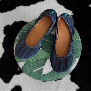 TIEKS navy blue leather size 9